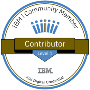 Bronze Logicmate IBM I Community Member
