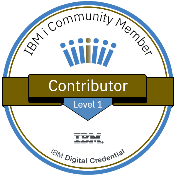 IBM i Bronze Badge